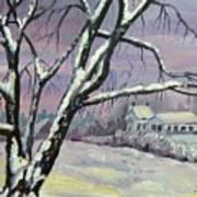 Winter Tree Poster by Saga Sabin