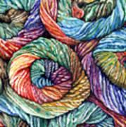 Yarn Poster by Nadi Spencer