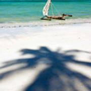 Zanzibar Beach Poster by Adam Romanowicz