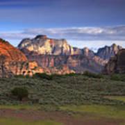 Zion National Park Utah Poster by Utah Images