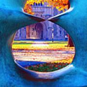 Blair Hall Gate  Print by George Oze