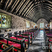 Church Of St Mary Print by Adrian Evans