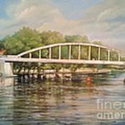Tartu Arch Bridge Print by Ahto Laadoga