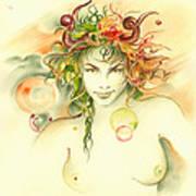 The Capricorn Print by Anna Ewa Miarczynska