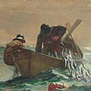 The Herring Net Print by Winslow Homer