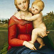 The Small Cowper Madonna Print by Raphael Raffaello Sanzio of Urbino
