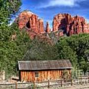 0682 Red Rock Crossing - Sedona Arizona Print by Steve Sturgill