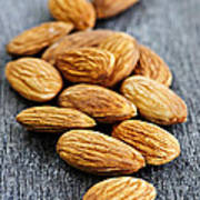 Almonds Print by Elena Elisseeva