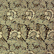 Anemone Design Print by William Morris