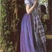 April Love Print by Arthur Hughes