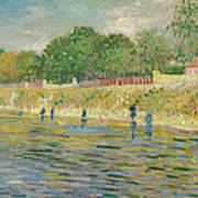 Bank Of The Seine Print by Vincent van Gogh