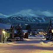 Breckenridge Colorado Morning Print by Michael J Bauer
