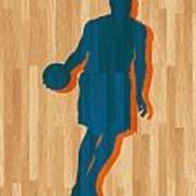 Carmelo Anthony New York Knicks Print by Joe Hamilton
