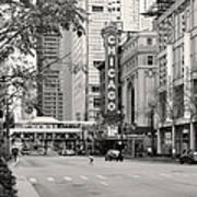 Chicago Theatre - French Baroque Out Of A Movie Print by Christine Till