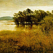 Chill October Print by John Everett Millais