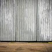 Corrugated Metal Print by Tom Gowanlock