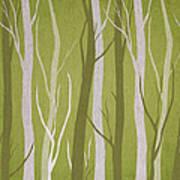 Dark Forest Print by Aged Pixel