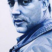 Dave Matthews  Print by Joshua Morton