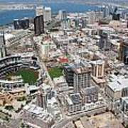 Downtown San Diego Print by Bill Cobb