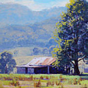 Farm Shed Print by Graham Gercken