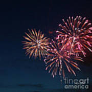 Fireworks Series Vi Print by Suzanne Gaff