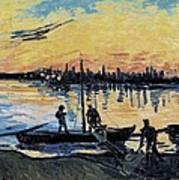 Gogh, Vincent Van 1853-1890. The Print by Everett