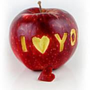 I Love You Print by Gynt