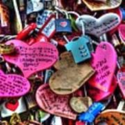 If You Love It Lock It  Print by Michael Garyet