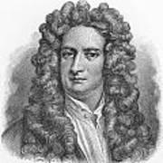 Isaac Newton Print by Oprea Nicolae