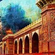 Jhangir Tomb Print by Catf