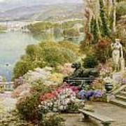 Lake Maggiore Print by Ebenezer Wake-Cook