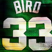 Larry Bird Print by Marvin Blaine