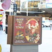 Las Vegas - Fremont Street Experience - 12128 Print by DC Photographer