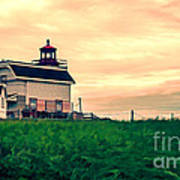 Lighthouse Prince Edward Island Print by Edward Fielding