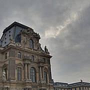 Louvre - Paris France - 01139 Print by DC Photographer