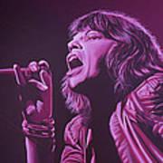 Mick Jagger Print by Paul Meijering