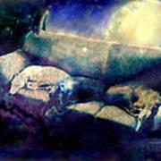 Nap Time Dreams Print by YoMamaBird Rhonda