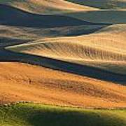 Patterns Of The Palouse Print by Latah Trail Foundation