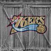 Philadelphia 76ers Print by Joe Hamilton