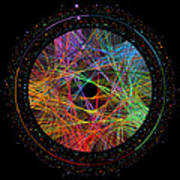 Pi Transition Paths Print by Martin Krzywinski