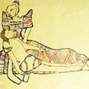 Pieta Print by Gloria Ssali