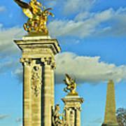 Pont Alexandre IIi Print by Mountain Dreams