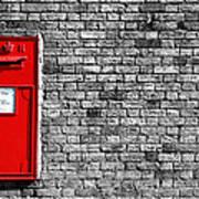 Post Box Print by Mark Rogan