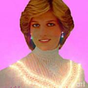 Princess Diana Print by Michael Rucker