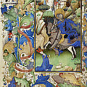 Saint George And The Dragon Print by Getty Research Institute