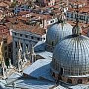 San Marco Basilica. Venice. Print by Fernando Barozza