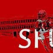 Sfu Art Print by Catf