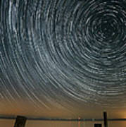 Star Trails 1 Print by Benjamin Reed