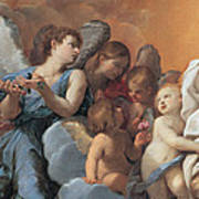 The Assumption Of The Virgin Mary Print by Guido Reni