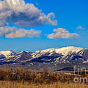 The Butte Print by Robert Bales